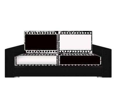 Диван Кино 2 флок фото-принт 120 ппу