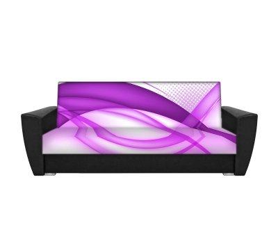 Диван Ультрафиолет - 12 флок фотопринт 120