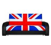 Диван Британский флаг — 140 с подсветкой