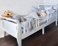 Кровать подростковая из массива бука Феалта-baby Нева