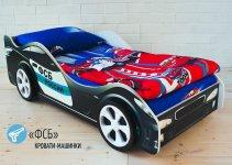 Детская кровать-машина Бельмарко «ФСБ»