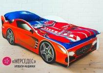Детская кровать-машина Бельмарко «Мерседес»