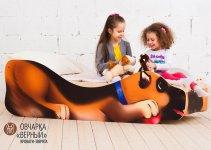 Детская кровать Бельмарко «Овчарка - Верный»