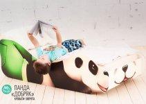 Детская кровать Бельмарко «Панда - Добряк»
