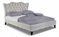 Кровать двуспальная Madlen черный светло-бежевый