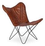 Кресло Secret De Maison Loft art черный коричневый